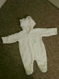 Like new first size pram suit