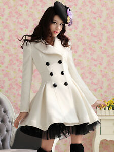 Princess-Lolita-Cute-Sweet-Gothic-Nana-PUNK-Kera-Long-Lace-White-Jacket-Coat