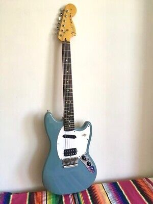 Squier Mustang Sonic grey - serious upgrades - free shipping