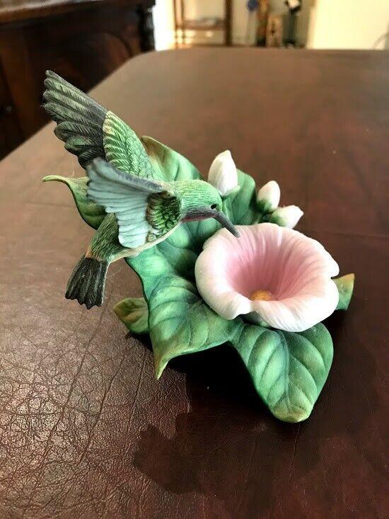 Crystal Cathedral Ministries Hummingbird Club figurine 1999