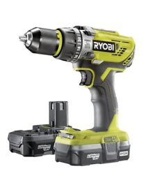 RYOBI R18PD3-213S ONE+ COMBI DRILL - ONLY £130 !!!