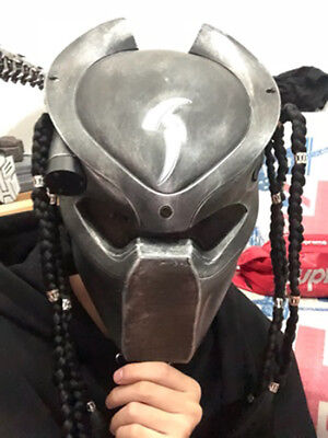 Horror Movie Predator Mask Cosplay Full Head Helmets Halloween Masquerade Mask