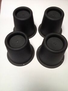 4 Round Circular Furniture Risers /Raisers Mobility aid raise beds, chairs etc