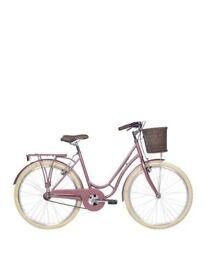 Kingston Whitehall Ladies Rose Gold Heritage Bike 19 inch Frame