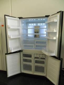 Second Hand Fridge/freezer SHARP FRENCH DOOR 676 L (SFF 586 )