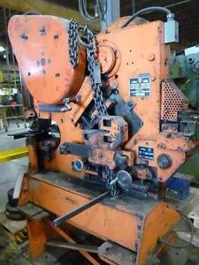 Ironworker, Peddinghaus 55 ton, mechanical , angle, punch, notch, flat bar shear, rounds, squares