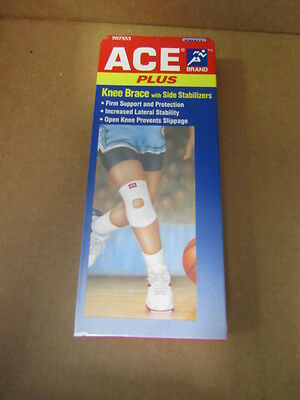 Ace  Plus Knee Brace With Side Stabilizers Size  Small 12  15   Free Shipping