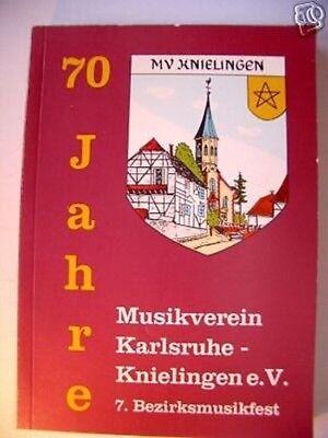 Festschrift Musikverein Karlsruhe Knielingen 1991