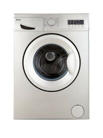 Swan SW2023S 6kg Load, 1200 Spin Washing Machine - Silver