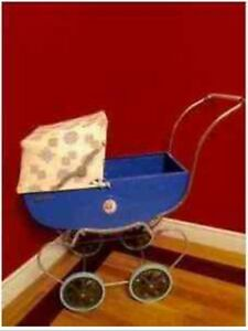 Antique Doll Carriage, Thistle 1950's, excellent condition