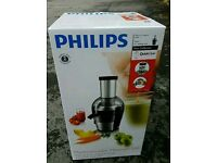 Philips Viva Collection Juicer - used twice, condition as new