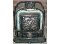 Salamander woodburning stove