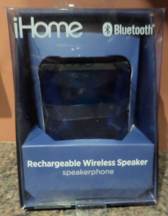iHome iBT67 Wireless Bluetooth Speaker with 8 Hour Rechargea