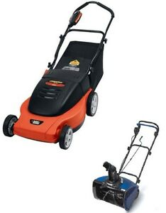 Broken Electric Lawnmowers and Snowblowers