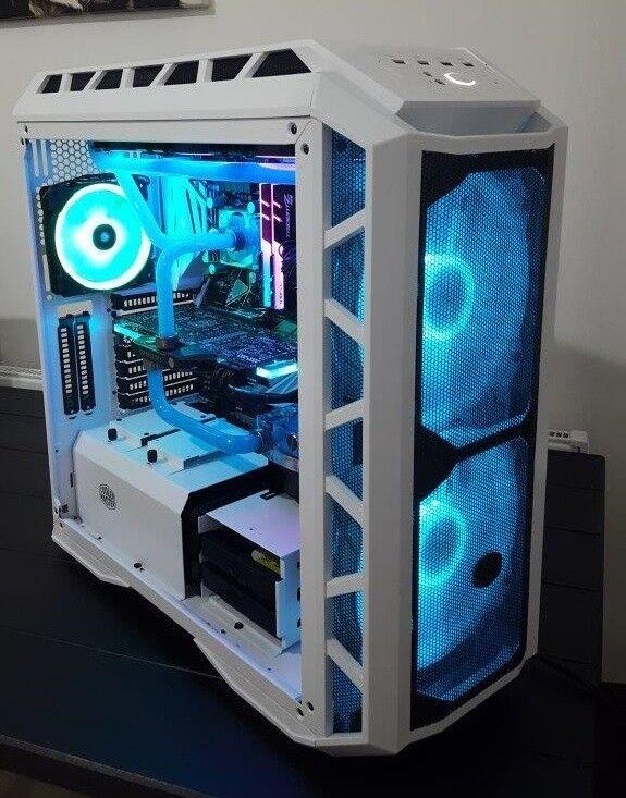 Custom Gaming PC Water Cooled i7 8700k 16GB RAM 500GB SSD 3TB HDD 1080TI  11GB | in Leyton, London | Gumtree