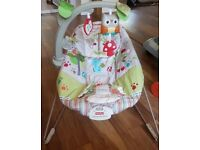 Bouncy chair fisher price calming vibrations