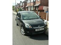Ford Fiesta zetec climax 2008, 1.4ltr, Low Milage, 2 owners