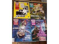 32 x 2000ad programmes 1992
