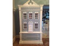 Armoire full size dolls house wardrobe
