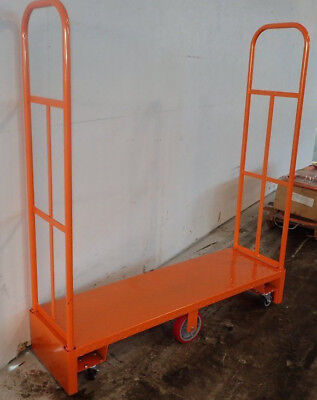 U-boat Utilty Cart Winholt 300-60dpu Steel Deck 63 Poly Wheels With 1 Shelf
