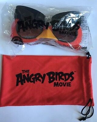 NEW NIP The Angry Birds Movie RealD 3D Glasses Limited Edition #look3d (Instagram Glasses)