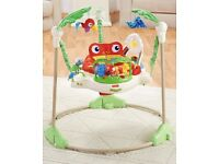 Fisher price baby rainforest jumperoo collection from Battersea near Clapham Junction