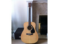 Yamaha F310 Acoustic Guitar as new