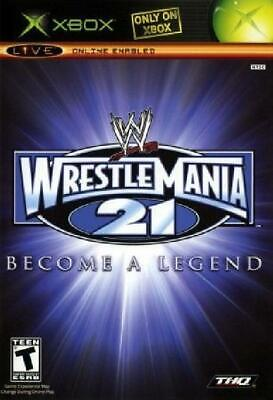 WWE WrestleMania 21 New Xbox, Video Games for sale  Shipping to India