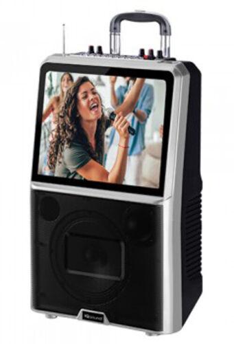 "IQ Sound IQ-1508DJWK 8"" Karaoke PA Speaker +15"" LED Wi-Fi +USB/SD/AUX +Free Mic"