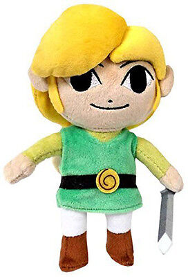 "1x The Legend of Zelda 8"" Small Link Wind Waker 1367 Stuffed Plush Little Buddy"
