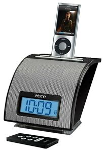 iHome iH11 Alarm Clock with Dock for iPod