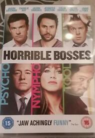 The horrible bosses dvd