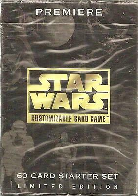 Star Wars CCG Premiere LIMITED EDITION Starter 12 Decks FACTORY SEALED