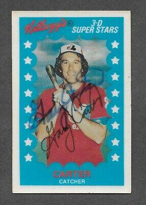 1982 Kelloggs 3-D Superstars #24 Gary Carter Expos