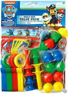 Nickelodeon PAW PATROL 48 Piece Party Favor Pack Party Favors Supplies](Patrol Party)