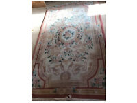 Chinese rug. Wool and hand knotted
