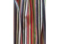 Paul Smith Style Curtains Very Thick Fabric
