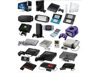 Wanted game consoles