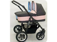 Nearly New Double Pram Buggy Stroller For Girl & Boy REDUCED PRICE