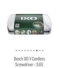 BOSCH 3.6v lithium cordless screw driver B/New
