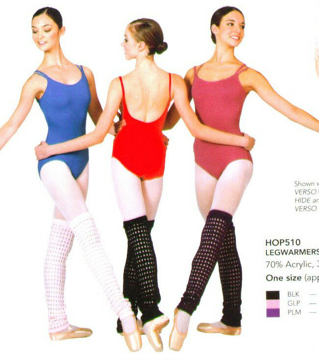 NWT HARMONIE OPENWEAVE LEGWARMERS $26 Retail 2 COLORS Great Classwear