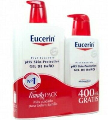 Eucerin Gel De Baño 1l + 400ml