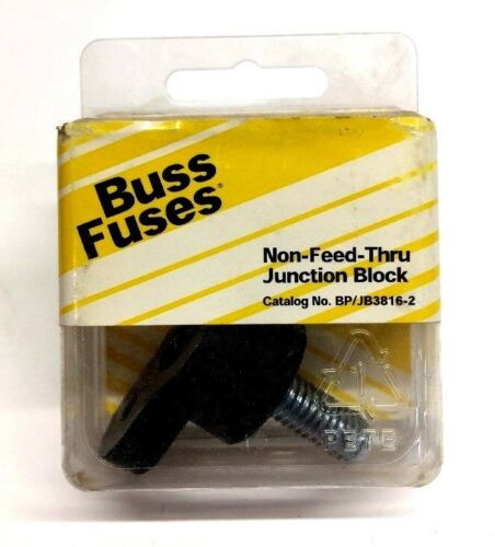 Bussmann Cooper Non-Feed-Thru Junction Block BP/JB3816-2 NOS