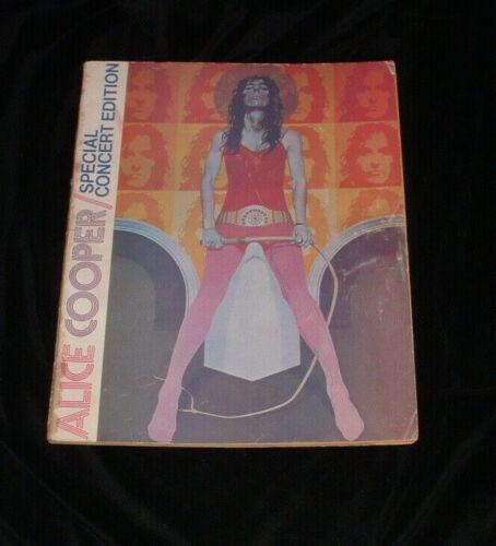 Alice Cooper Billion Dollar Babies Tourbook Tour Book Program Signed