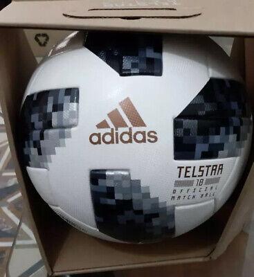 NEW Soccer Ball FIFA World Cup 2018 Russia Official Match Ball Telstar 18 Size 5