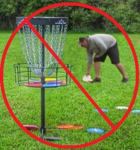 Disc Golf, Frisbee retriever