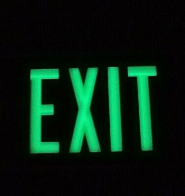 Isolite Self-luminous Exit Sign 1 Sided