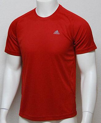Climalite Performance T-shirt (Adidas Ess Performance Funtionsshirt T-Shirt ClimaLite rot XS 42 / 152 - 164 Neu)