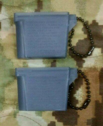 USGI  Ear Plug Case  Military Surplus  2 Each
