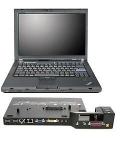 Lenovo-ThinkPad-T61-Intel-Core-T7500-160GB-HDD-3GB-RAM-Win-10-Pro-With-Dock